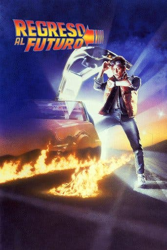 "Poster for the movie ""Regreso al futuro"""