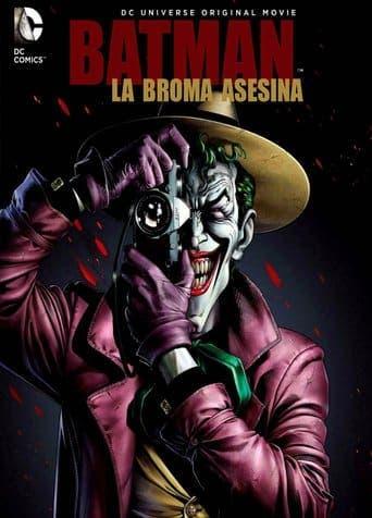 "Poster for the movie ""Batman: La broma asesina"""