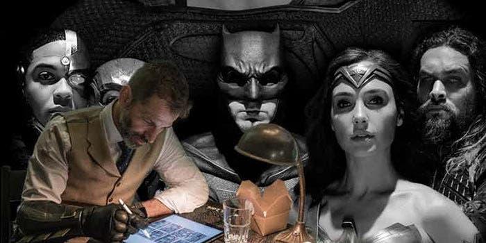 Zack Snyder vs Geoff Johns