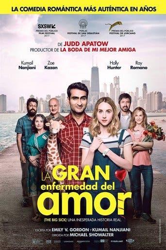 """Poster for the movie """"La gran enfermedad del amor"""""""
