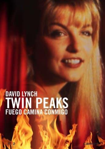 "Poster for the movie ""Twin Peaks: Fuego camina conmigo"""
