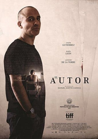 "Poster for the movie ""El autor"""