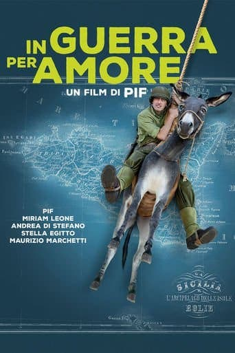 "Poster for the movie ""En guerra por amor"""