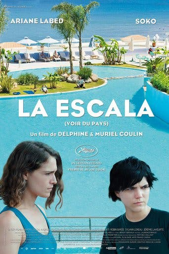 "Poster for the movie ""La escala"""