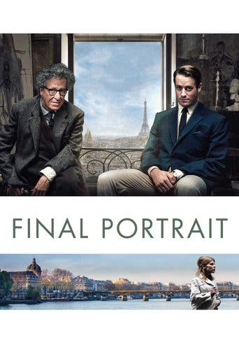 "Poster for the movie ""Final Portrait"""