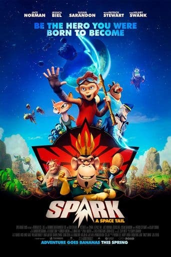 Poster for the movie 'Spark, una aventura espacial'