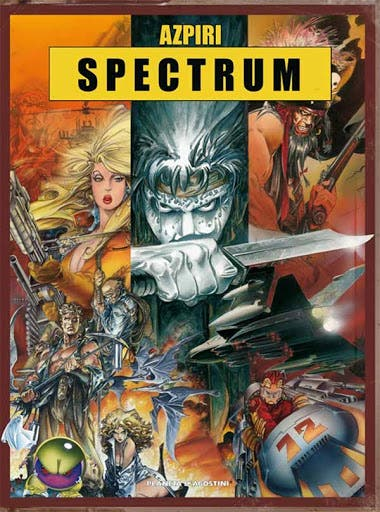 Spectrum Alfonso Azpiri Portada