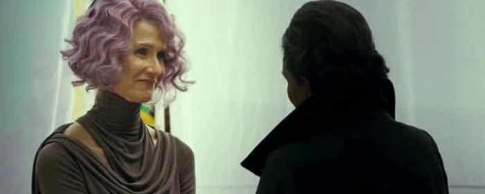 Vicealmirante Holdo en Star Wars: Los Últimos Jedi