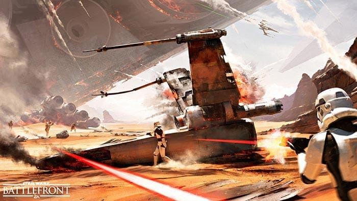 Batalla de Jakku - Star Wars