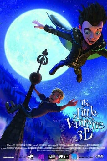 """Poster for the movie """"The Little Vampire 3D"""""""