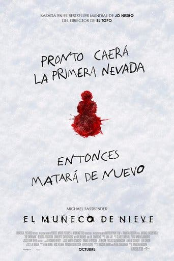 "Poster for the movie ""El muñeco de nieve"""