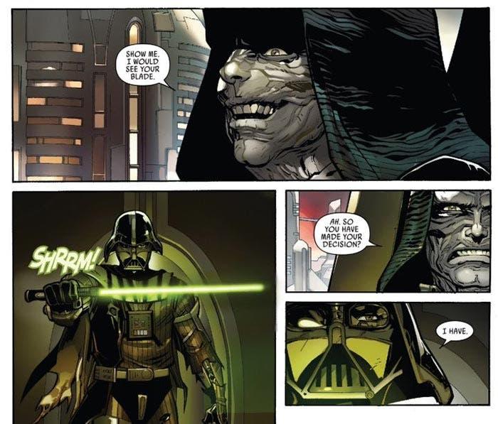 Darth Vader y su visión de la Fuerza en los cómics de Star Wars