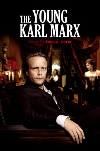"Poster for the movie ""Le jeune Karl Marx"""