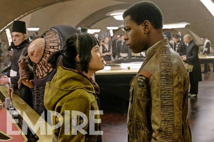 Finn y Rose en Star Wars: Los Últimos Jedi