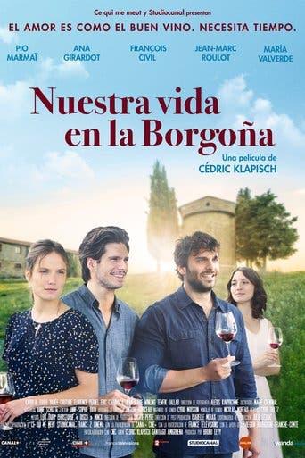 """Poster for the movie """"Nuestra vida en la Borgoña"""""""