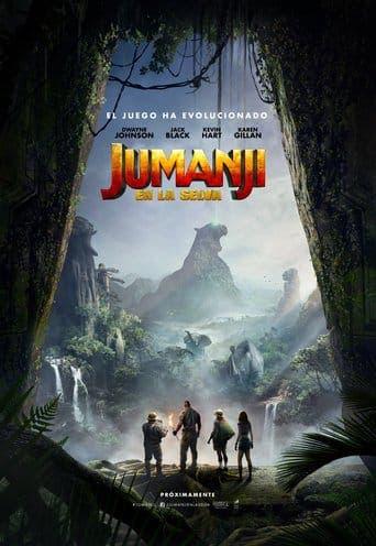 """Poster for the movie """"Jumanji: Bienvenidos a la jungla"""""""