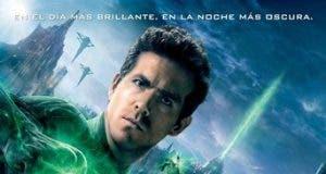 "Poster for the movie ""Green Lantern (Linterna verde)"""