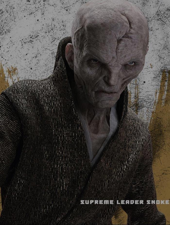 Snoke en Star Wars: Los Últimos Jedi