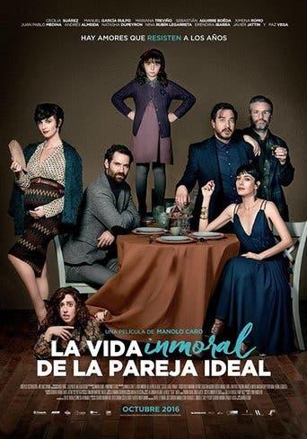 """Poster for the movie """"La vida inmoral de la pareja ideal"""""""