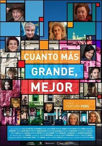 """Poster for the movie """"Cuanto Más Grande, Mejor"""""""