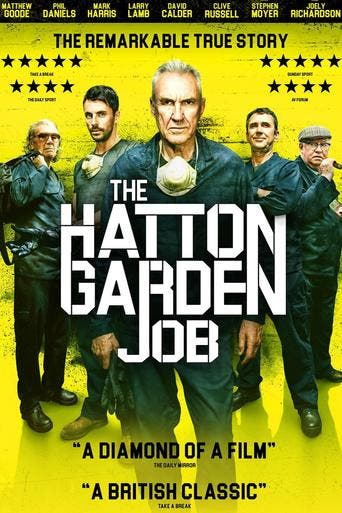 "Poster for the movie ""The Hatton Garden Job"""