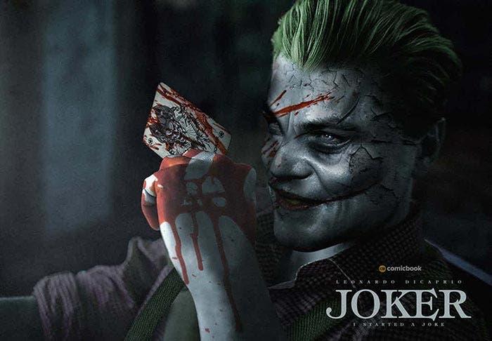 Leonardo DiCaprio como El Joker