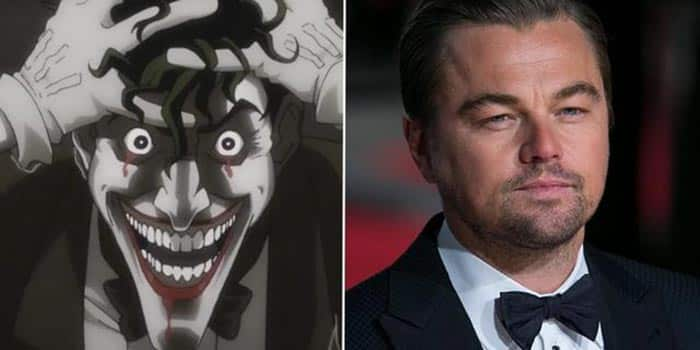 Leonardo DiCaprio en The Joker