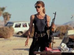 Linda Hamilton como Sarah Connor en Terminator 6