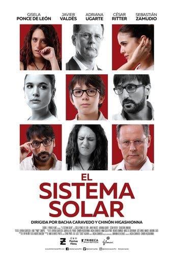 "Poster for the movie ""El sistema Solar"""