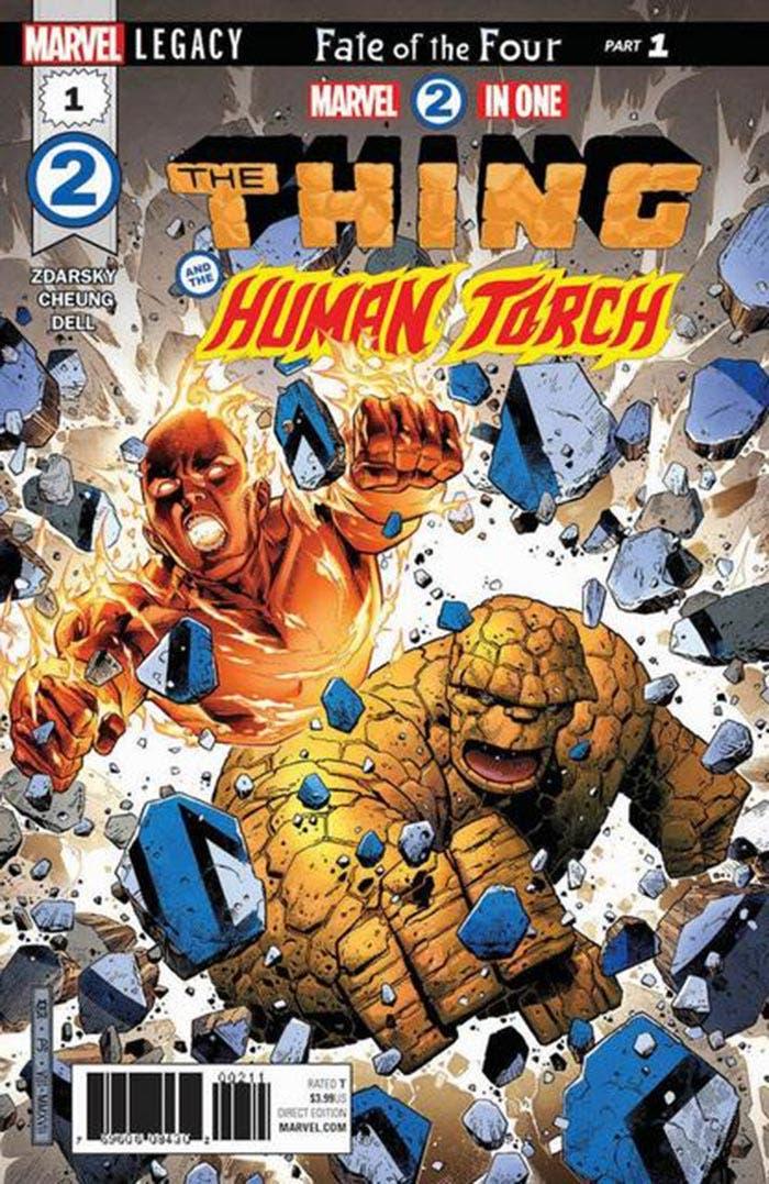 Marvel Legacy: La Cosa y Antorcha Humana