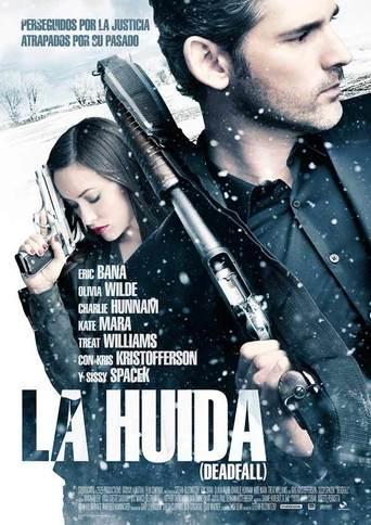 "Poster for the movie ""La huída"""