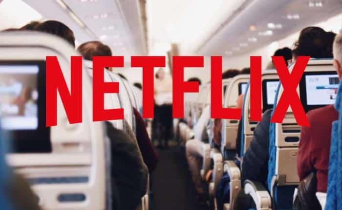 Netflix en avión
