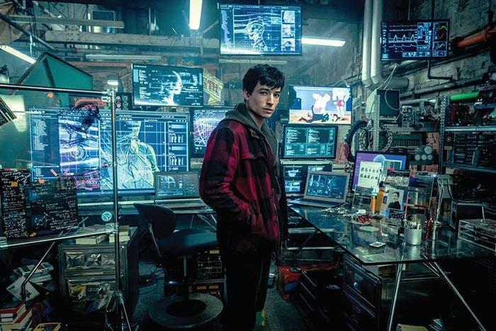 Flash (Ezra Miller) en la Liga de la Justicia (2017)