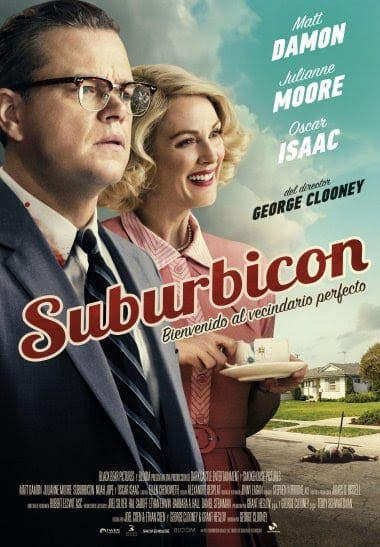 poster de suburbicon