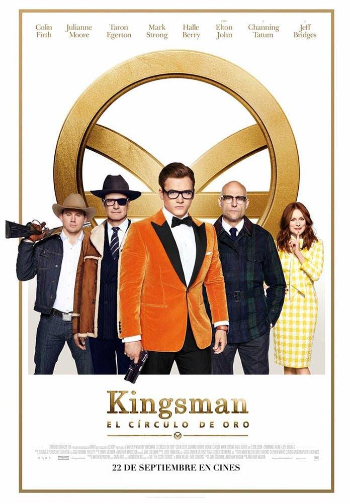 Póster definitivo de Kingsman: El Círculo de Oro (2017)
