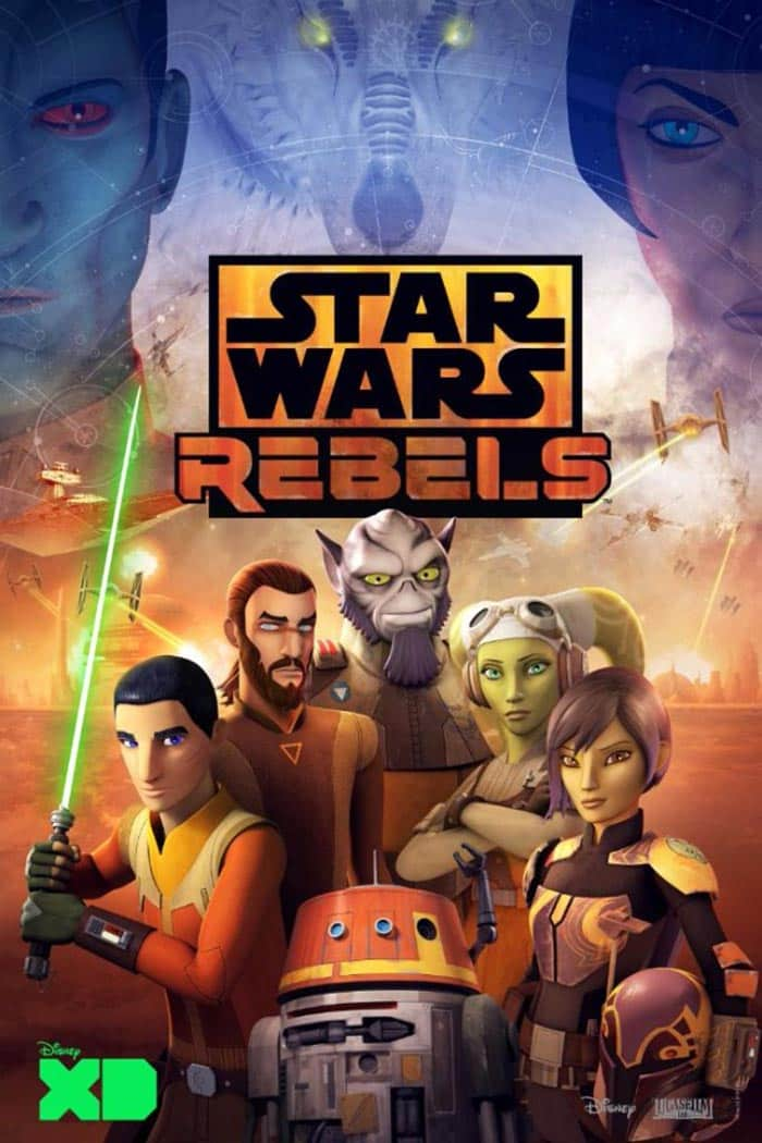 Póster de la temporada 4 de Star Wars Rebels