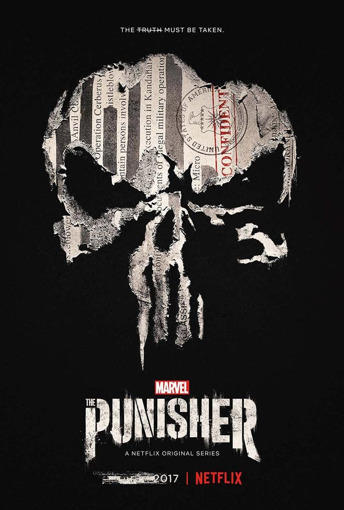 Póster de The Punisher (Netflix)