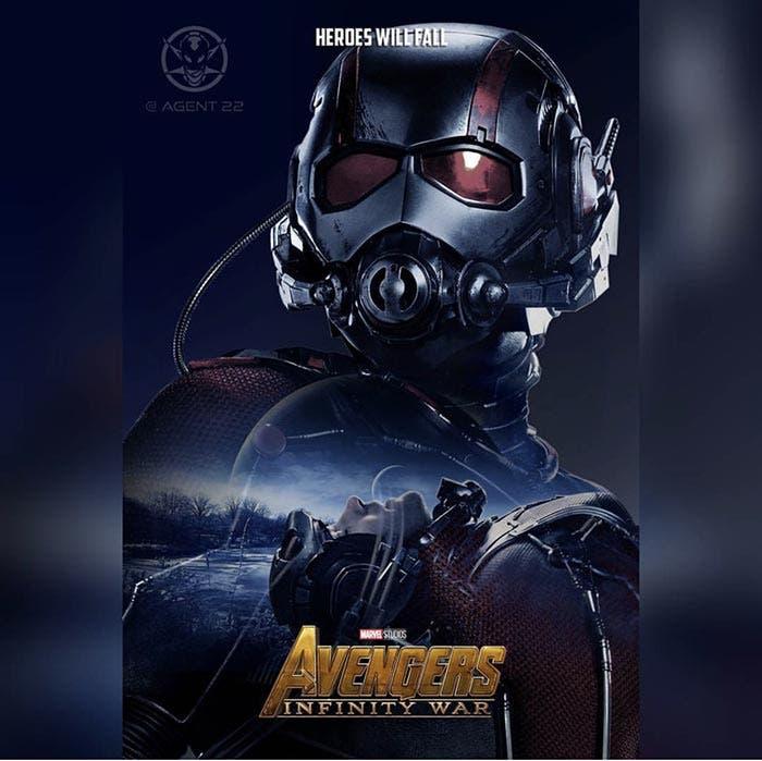 Póster Vengadores: Infinity War (2018) - Ant-Man
