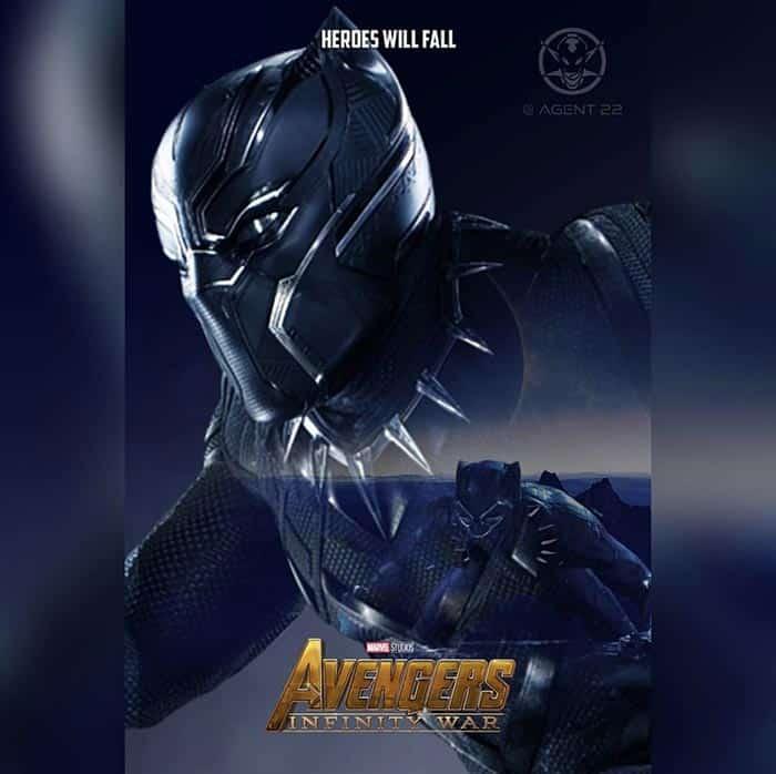 Póster Vengadores: Infinity War (2018) - Black Panther