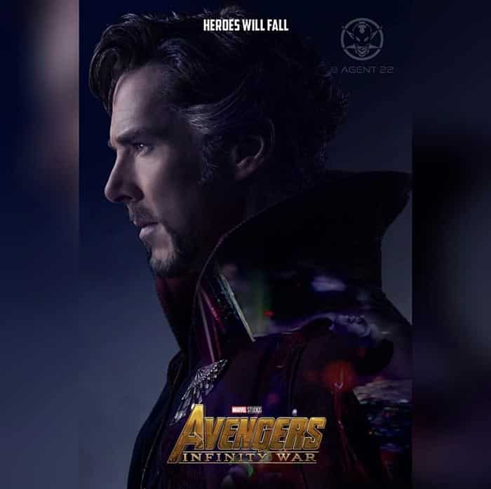 Póster Vengadores: Infinity War (2018) - Doctor Strange