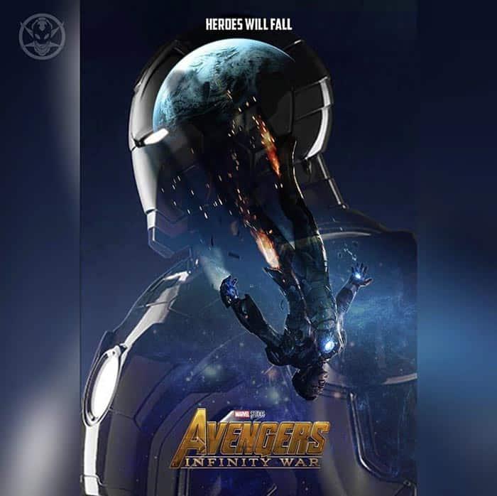 Póster Vengadores: Infinity War (2018) - Iron Man