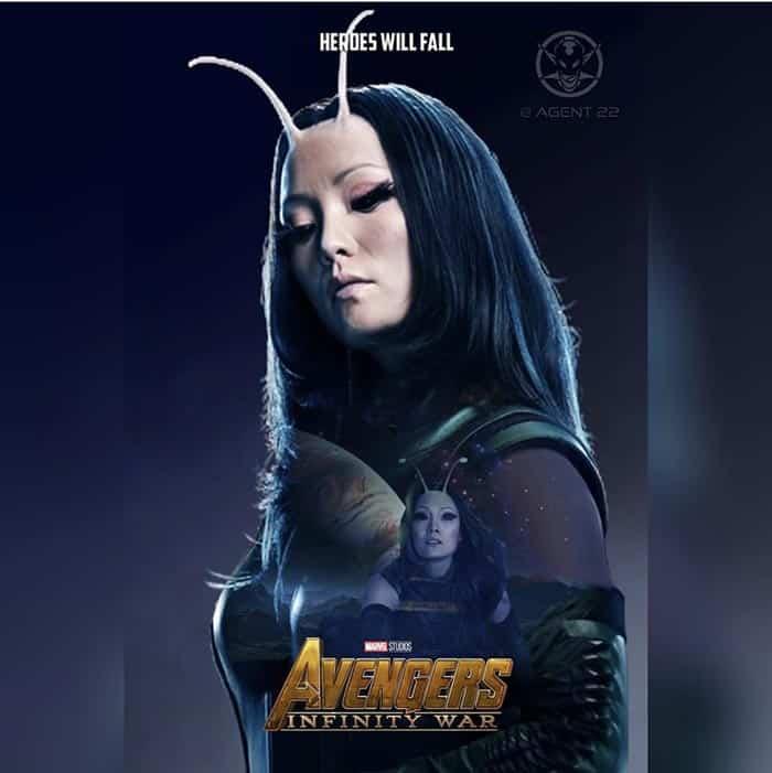 Póster Vengadores: Infinity War (2018) - Mantis