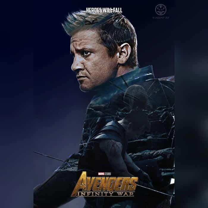 Póster Vengadores: Infinity War (2018) - Ojo de Halcón
