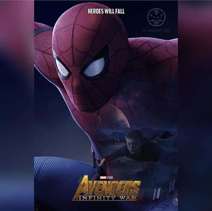 Póster Vengadores: Infinity War (2018) - Spider-Man