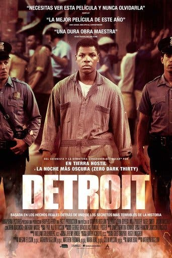 """Poster for the movie """"Detroit"""""""