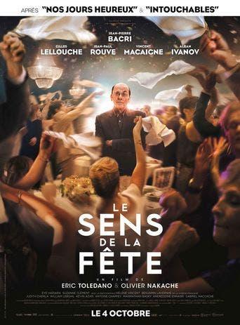 """Poster for the movie """"Le Sens de la fête"""""""