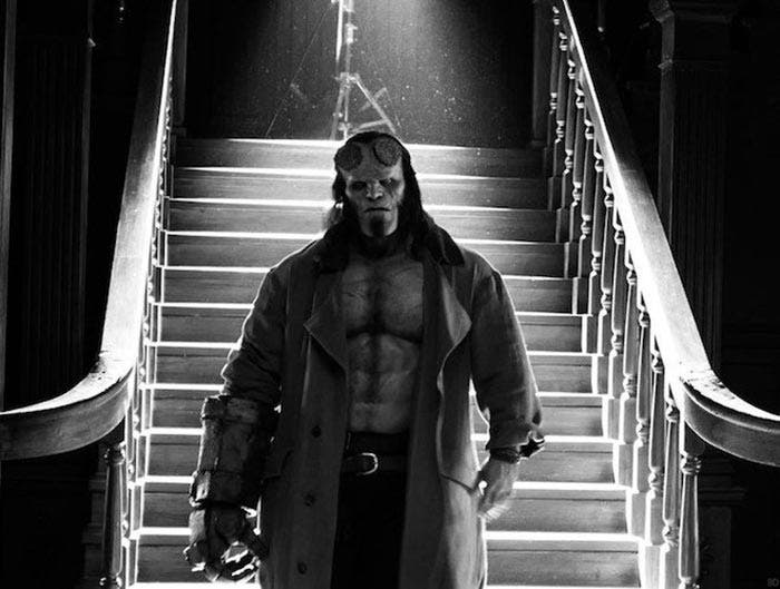 Hellboy con David Harbour