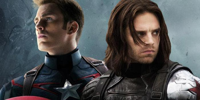 Capitán América y Soldado de Invierno en Vengadores: Infinity War