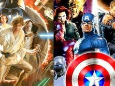 Star Wars y Marvel en Disney