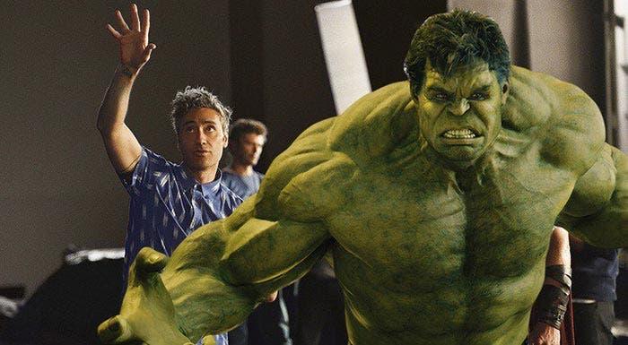 Taika Waititi fue Hulk en Thor: Ragnarok (2017)